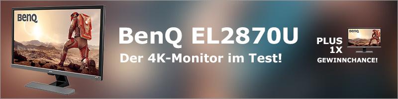 BenQ EL2870U – Der 4K-Monitor im Test! |